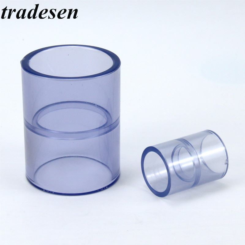 """Transparent UPVC Pipe Thread Fitting Connector 20-63mm ID Socket to 1//2/""""-2/"""" Male"""