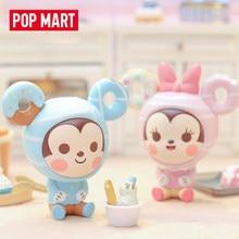 Originale Pop Mart Mickey Dessert serie scatola cieca giocattoli bambola casuale un simpatico regalo Anime Figure