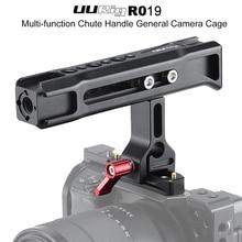 Uurig R019 nato一般的なスライドハンドルと1/4と3/8穴コールドシューマウントモニターソニーニコンカメラ