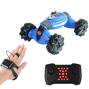 cool stunt remote control motorcycle deformation 2 4g mini rc motorcycle drift light concept flip cars led lights for kids gift RC Stunt Car Gesture Induction One-Key Deformation Remote Control Car Off-Road Vehicle Twisting Drift Side Driving RC Toys Gift