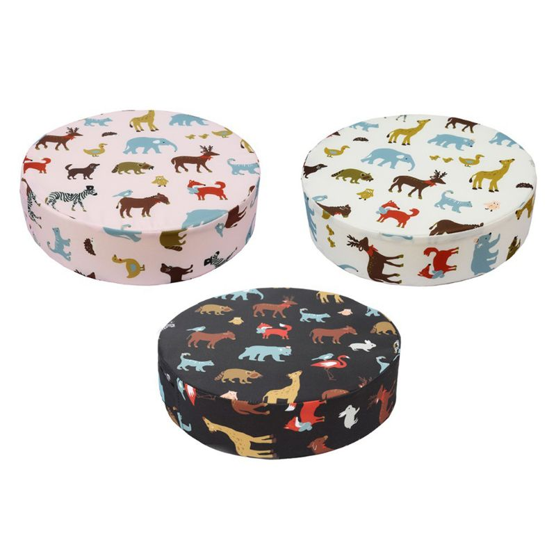 Chrildren Heighten Seat Mat Baby Child Dining Cushion Chair Removable Round Pad Chair Pram Booster Round Pad