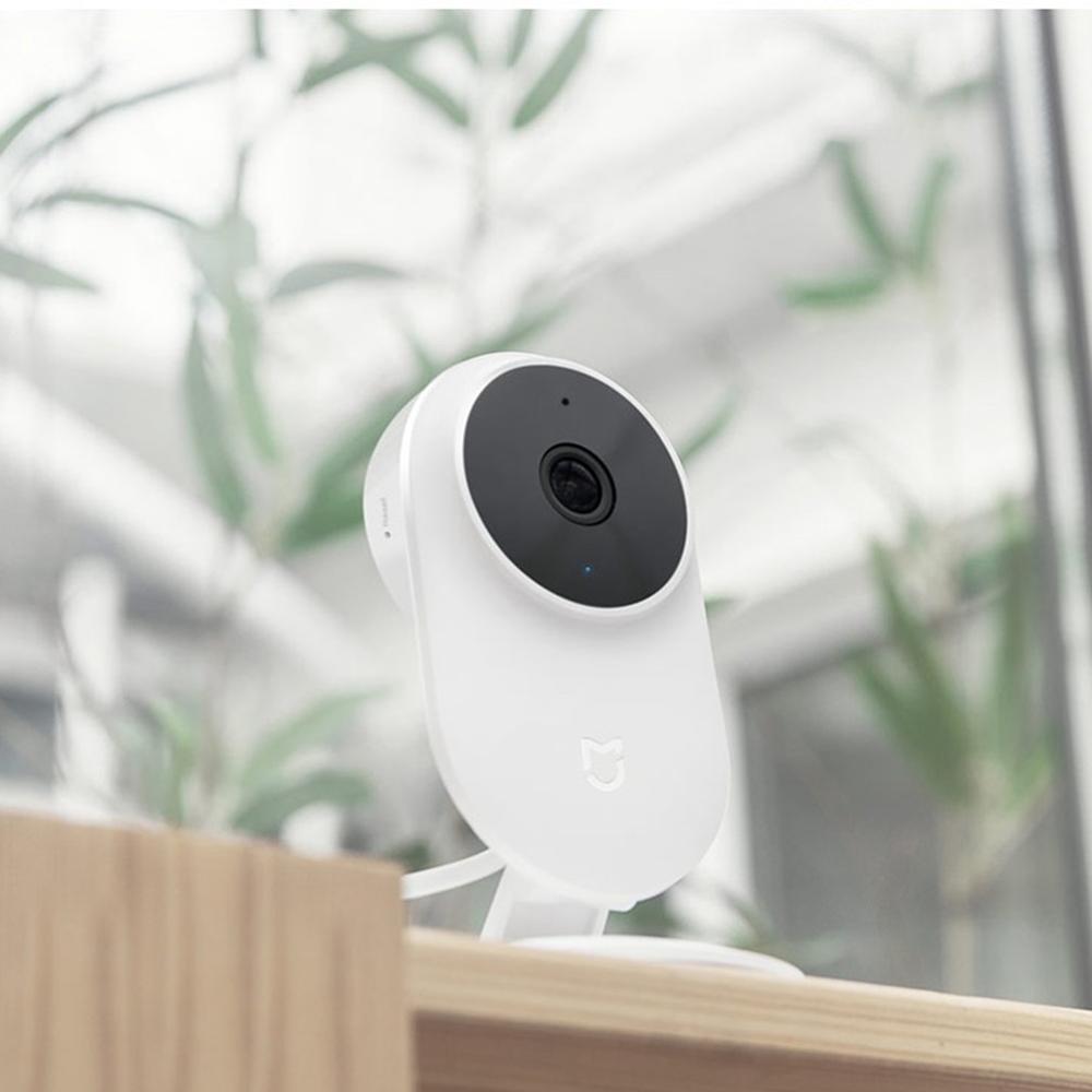 Caméra IP intelligente de sécurité à domicile Xiao mi mi jia mi 1080P Wifi sans fil 130 Vision nocturne grand Angle