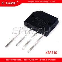 10 pces kbp210 2a 1000v ponte retificador novo e original ic