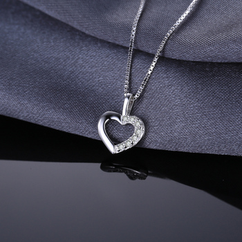 Heart Sterling Silver Pendant Necklace 2