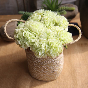 Image 2 - Simulación de peonía flores artificiales decoración para fiesta de boda ramo para el hogar pegatina de flores artificiales Decoración