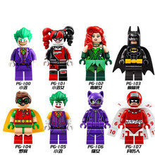 Super Heroes Serie LEGOing Batman Movie Cijfers Action Model Bouwstenen Speelgoed Voor Kinderen Superhelden Batman(China)