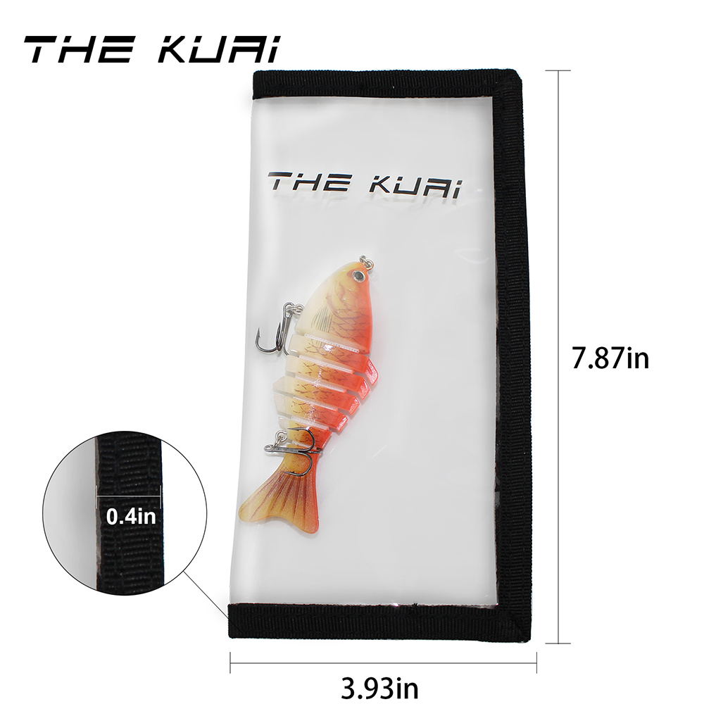 """Lure Cover Lure Jacket Lunker 12/"""" x 12/"""" 2 -Pack; Fishing Lure Wrap"""
