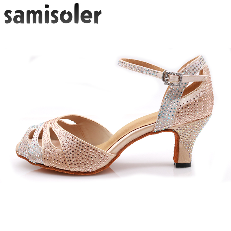 Ladies Party Ballroom Latin Tango Modern Jazz Salsa Dance Heels Shoes EU34-42 1P
