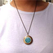 Ожерелье для женщин новые аксессуары мандала временная коробка