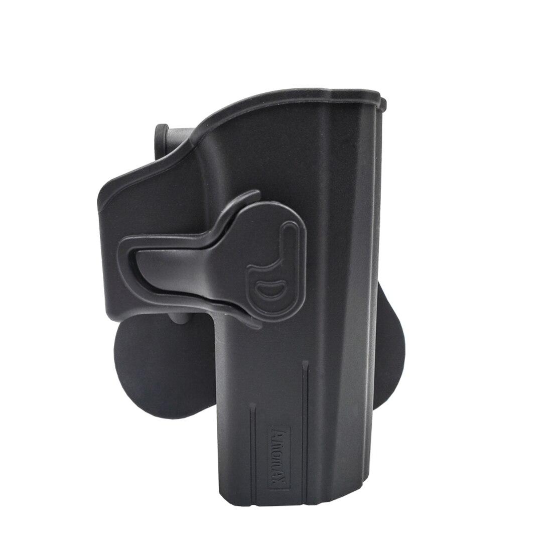 Amomax Regolabile Tattica di Caccia della Custodia per Armi per CZ Ombra 2-Nero mano Destra