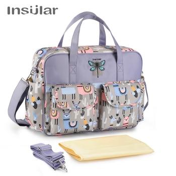 New Styles Waterproof Diaper Bag Large Capacity Handbag Messenger Travel Bag Multifunctional Maternity Mother Baby Stroller Bags