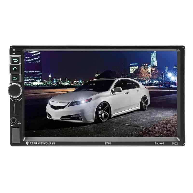 SWM 8802 Android 8.1 Car Stereo GPS Navigation WiFi BT USB Radio Head Unit