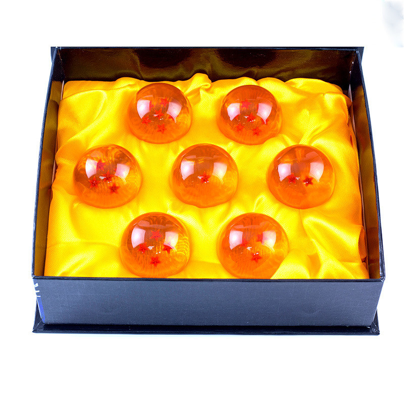 Hot Sale 7pcs/set Dragon Ball Z 7 Stars Crystal Ball DragonBall 2 Sizes Selectable 3.5cm / 4.2cm  Box Packaged Free Shipping