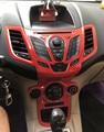 Für 2009 2014 Ford Fiesta Pfirsich holz rahmen Radio Audio Panel Dash Mount Trim Umrüstung Kit Fascia Gesicht Surround rahmen-in Kfz Innenraum Aufkleber aus Kraftfahrzeuge und Motorräder bei