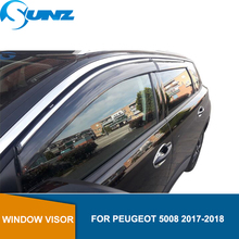 Window Air Vent Visor For PEUGEOT 5008 2017 2018  Sun Shade Awnings Shelters Guards SUNZ