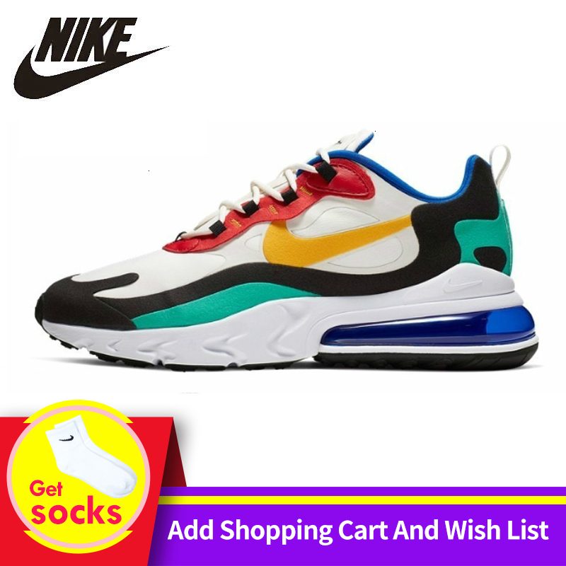 Original New Arrival Air Max 270 Men's Comfortable Running Shoes Sport Outdoor Good Quality Sneakers AH8050 601