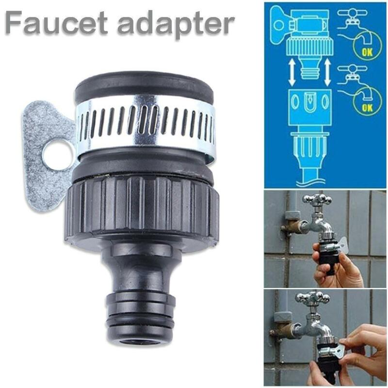 Universal Garden Hose Pipe Tap Connector Mixer Kitchen Bath Tap Faucet Adapter Quick Connect Garden Accessories Outdoor Connect
