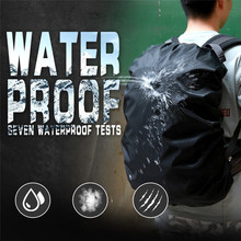 Backpack 35L Rain-Cover Waterproof Bag Sports-Bags Climbing Hiking Tactical Outdoor Camping