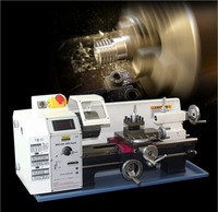 Small household lathe, small household lathe, high power motor, stainless steel machining lathe, miniature lathe, small machine