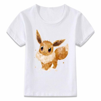 T-Shirt Pokemon Evoli Unisexe Enfants