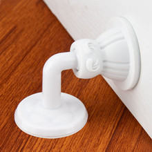 1 Set Silicone Door Stopper Handle Silencer Wall Protectors
