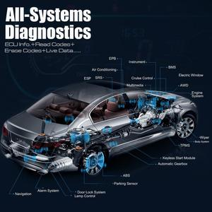 Image 5 - Autel MK808BT Automotive Diagnostic OBD2 Code Scanner Tool Alle System DPF EPB UNS