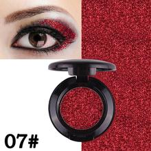 Glitter Powder Eyeshadow Solid Color Shimmering Long Lasting Fine And Smooth Eye Shadow