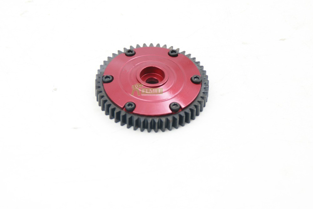 Aluminum Hardened Steel 49T Spur Gear for HPI <font><b>SAVAGE</b></font> X <font><b>21</b></font> 25 SS 4.6 MT2 18S image