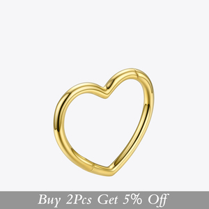 Image 2 - ENFASHION Heart Cuff Bangles For Women Accessories Gold Color Brass Bracelets Fashion Jewelry Friends Gifts 2020 Pulseira BC2006