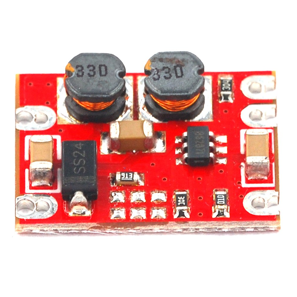 DC-DC Automatic Step-up And Step-down Module 2.5V-15V To 3.3V 5V Fixed Output Small Volume Power Module