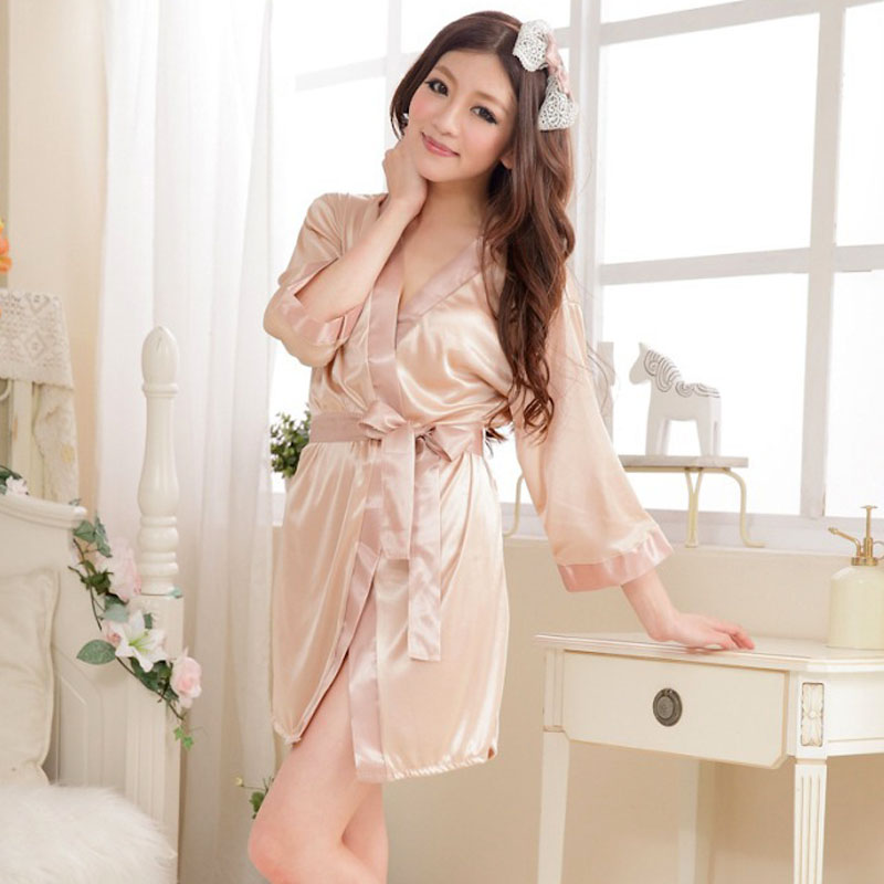 Bohowaii Quality Sexy Sleepwear 7 Colors Szlafrok Damski Bath Robe For Women Szlafrok Panna Mloda