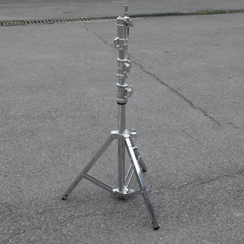 Stainless Steel Lamp Holder Heavy duty light stand 2 Meters High Large Size 40 35 30mm 1070 -2100mm   6.3kg