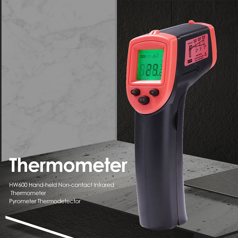 Newly IR Infrared Thermometer Temperature Meter Non-contact Handheld Pyrometer for Industry XSD88