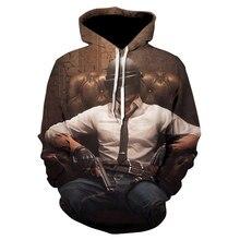 Aikooki New PUBG 3D Hoodies Men/women Fashion Hot Game Playerunknown's Battlegrounds PUBG 3D Print Men's Hoodies and Sweatshirt