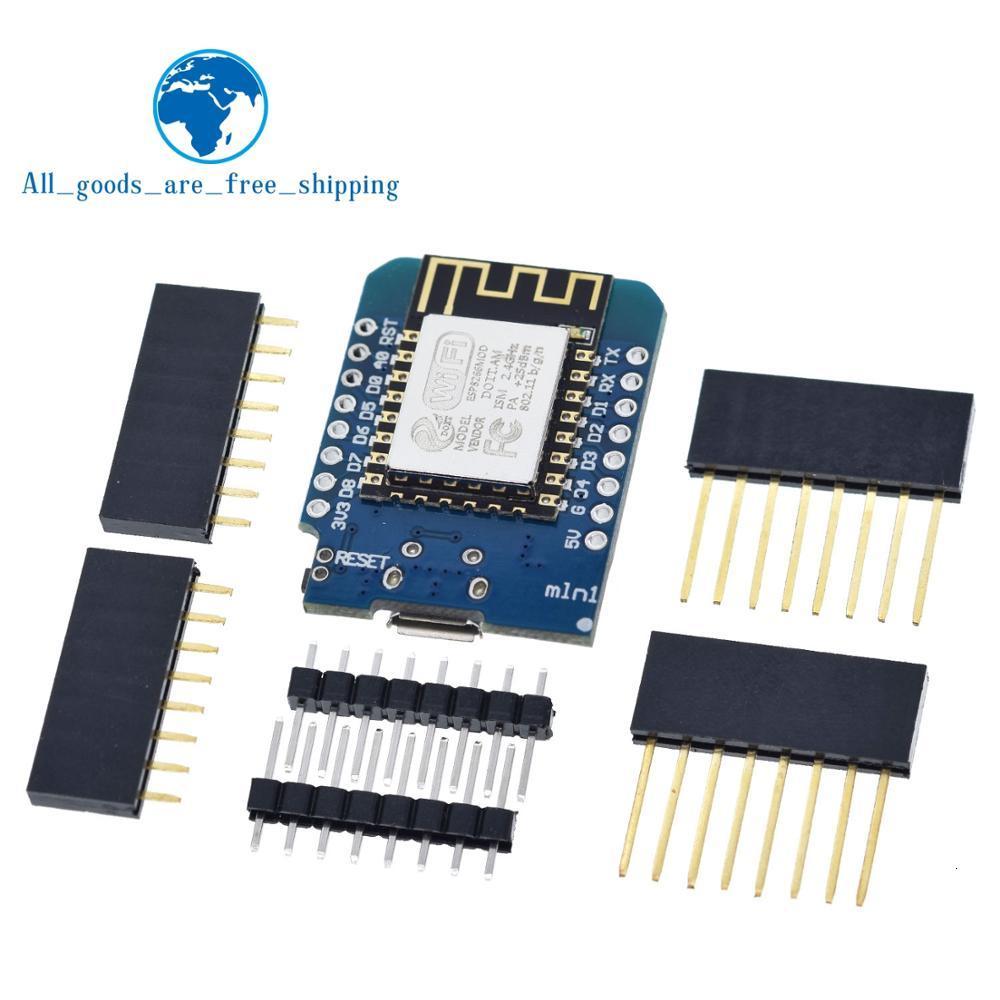 WeMos D1 Мини модуль ESP8266 ESP-12 ESP12 Wemos D1 Мини WiFi макетная плата Micro USB 3,3 V на основе ESP-8266EX 11 цифровой Pin
