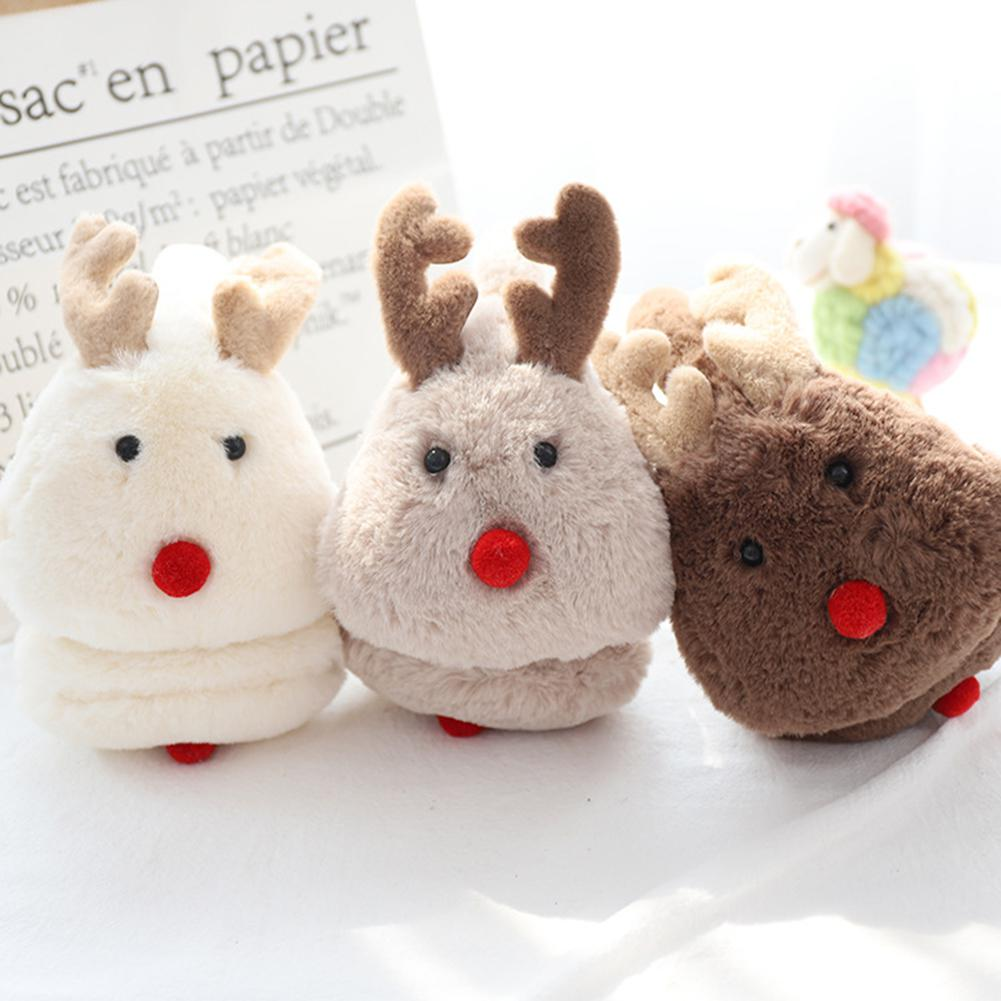 Unisex Cute Christmas Elk Comfortable Adjustable Winter Warm Earmuff Outdoors Ear Muffs