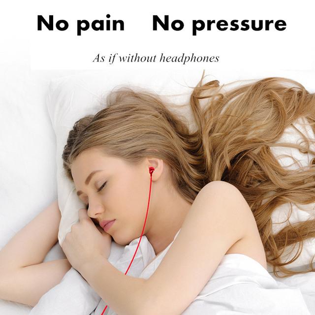 Bullet Sleep Earphones Noise-cancelling Graphene