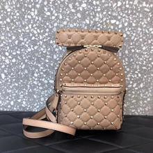 Ladies Backpack, Sheepskin Ladies Backpack, Luxury Leather M
