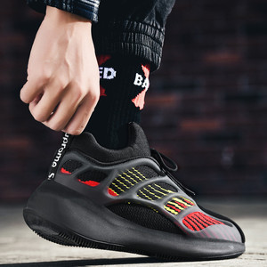 Image 1 - Mens lightweight running shoes shockproof breathable mens casual sports shoes increased walking fitness shoes Zapatillas mujer