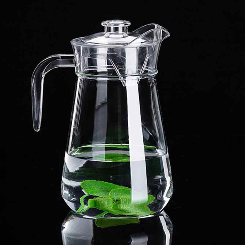 アクリルコールドケトル飲料収納容器明確な水差し PC ジュースピッチャー家庭用冷水ケトル