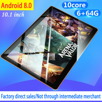 2020 Hot Sale 10 Inch Android 8.0 WiFi Tablet PC Octa Core Dual Camera 2.0MP/5.0MP RAM 8GB+ROM 128G Kids Tablet image