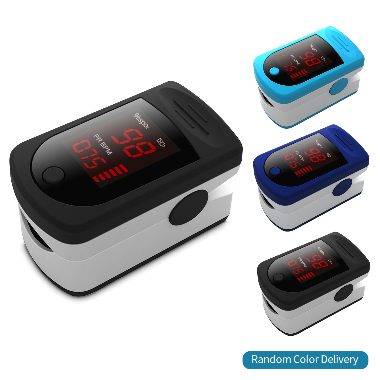 Puls Oximeter Digital Fingertip Pulse Oximeter Blood Oxygen Saturation Meter SPO2 PR Monitor Finger Oximeter Pulse Oximeter