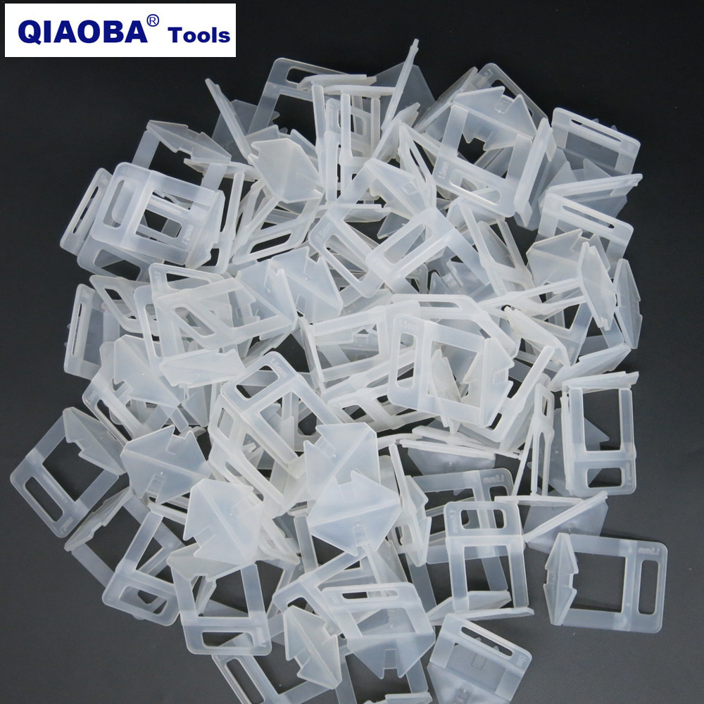 1.5mm Tile Clips Ceramic Tile Spacer  Pack Of 200pcs Tile Leveling System