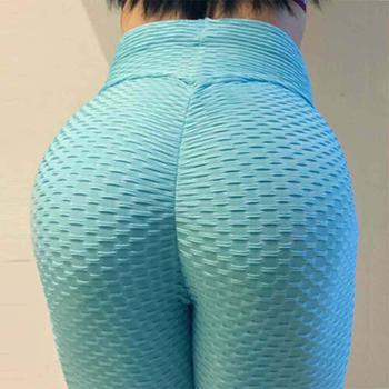 JGS1996 Women's High Waist Yoga Pants Anti-Cellulite Slimming Booty Leggings Workout Running Butt Lift Tights 12