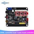 Nouveau 3 axes contrôleur CNC contrôle USB carte Double axe Y carte avec contrôle GRBL pour 3018/2418/1610 Laser graveur Machine