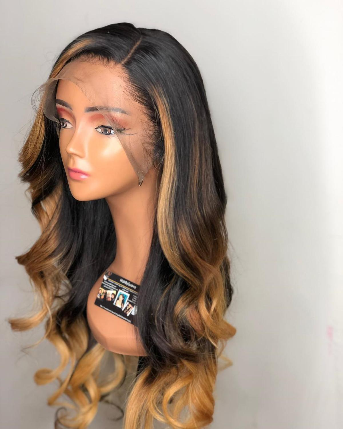13*6  Loose Wave Wig Front Lace Human Hair Wigs For Women Pre Plucked Human Hair Wig Natural Hairline LINMAN