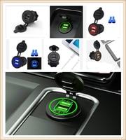 12 v 24 v dispositivo da relação do carregador do telefone móvel da motocicleta do carro para volkswagen vw touran 1.4 raposa 1.2 touareg2 golfa5 gt -