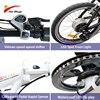 2020 New electric bike 36V 10Ah 250W Lithium battery e bike Max speed 25Km/h brushless rear hub motor bicycle bicicleta eletrica