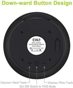 Image 4 - EWA A110Miniลำโพงไร้สายบลูทูธแบบพกพาแบตเตอรี่ในตัวเสียงเบสโลหะครอบคลุมสำหรับสมาธิ
