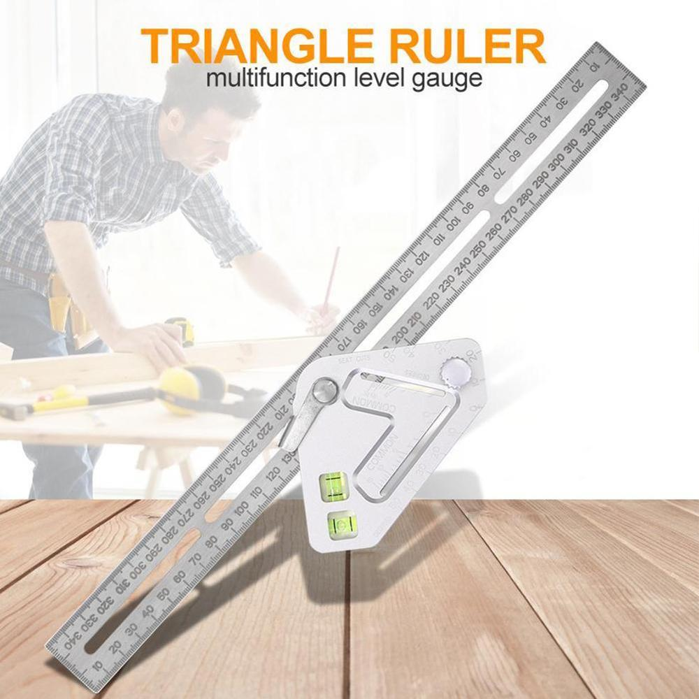 Roof Revolutionizing Carpentry Utensil Multi-function Measuring Tool Angle Ruler Measuring Tools